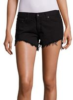 Rag & Bone Studded Cut-Off Denim Shorts