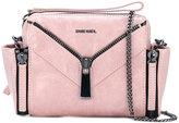 Diesel zip detail shoulder bag - women - Calf Leather - One Size