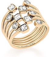 Michael Kors Cubic Zirconia Statement Ring