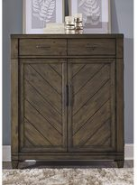 Liberty Modern Country Harvest Brown 2-Drawer/2-Door Chest