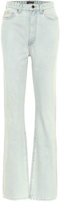 KHAITE Danielle high-rise straight jeans