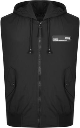 Versace Reversible Gilet Black