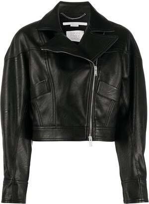 Stella McCartney Cropped Biker Jacket