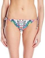 Desigual Women's Hipster Printed Bikini Bottoms - White -