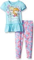 Disney Toddler Girls Frozen Legging Set with Fashion Top