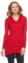 Apt. 9 V-Neck Tunic Sweater