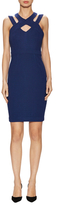 Tracy Reese Textured Harness Sheath Dress