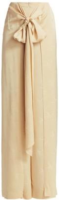 Silvia Tcherassi Arenzano Knotted Wrap Pants