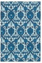 Artistic Weavers Elaine Landon Hand-Woven Cotton Bohemian Rug
