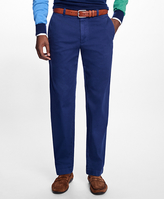 Brooks Brothers Milano Fit Garment-Dyed Pique Chinos