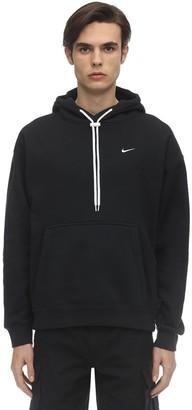 Nike Cotton Jersey Sweatshirt Hoodie