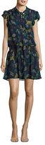 Ella Moss Floral Silk Blouson Dress