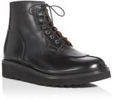Grenson Grover Apron Toe Platform Boots