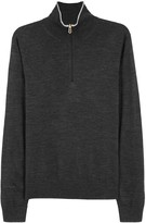 Paul Smith Charcoal Fine-knit Wool Jumper