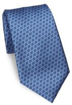 Charvet Small Pattern Silk Tie
