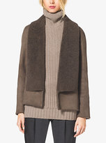 Michael Kors Suede And Shearling Jacket