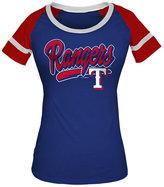 5th & Ocean Women's Texas Rangers Homerun T-Shirt