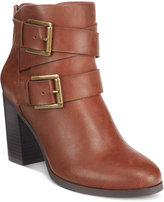 Style&Co. Style & Co. Royy Block-Heel Booties, Only at Macy's