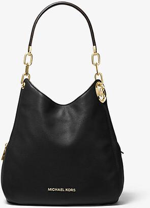 Michael Kors Lillie Large Pebbled Leather Shoulder Bag