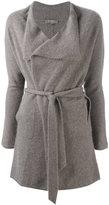 N.Peal cashmere wrap cardigan - women - Cashmere - M