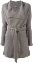 N.Peal cashmere wrap cardigan - women - Cashmere - S