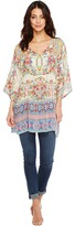 Johnny Was Bias Flower Top Women's Clothing