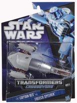 Star Wars Hasbro Transformers Crossovers - Captian Rex to Freeco Speeder