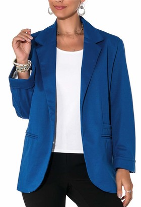 Imbry Boyfriend Blazers for Women Cool and Fashionable Casual Suit Coat Jacket (XXL