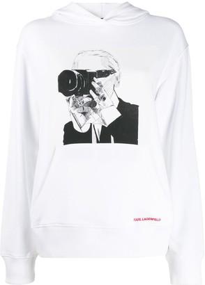 Karl Lagerfeld Paris Legend hoodie