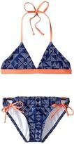Splendid Littles Deckhouse Geo Reversible Triangle Tunnel Girl's Swimwear Sets