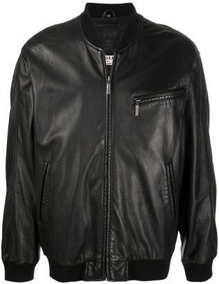 A.N.G.E.L.O. Vintage Cult 1980s Leather Bomber Jacket