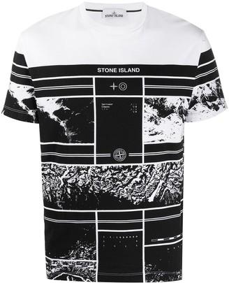 Stone Island Mural Part 3 cotton T-shirt
