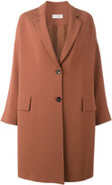 Alberto Biani single breasted coat - women - Polyester/Acetate/Triacetate - 42