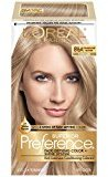 L'Oreal Superior Preference Fade-Defying Color + Shine System, 8.5A Champagne Blonde(Packaging May Vary)