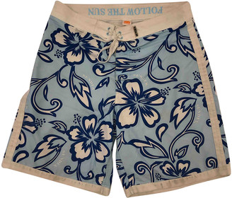 Sundek Blue Polyester Swimwear