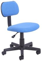 Office Essentials Height Adjustable Desk Chair - Royal Blue