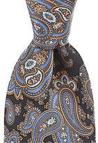 Daniel Cremieux Peached Paisley Traditional Silk Tie