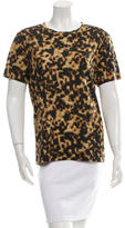Barbara Bui Printed Crew Neck T-Shirt w/ Tags
