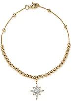KC Designs Diamond Starburst Bead Bracelet in 14K Yellow Gold