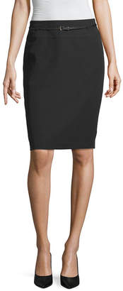 Liz Claiborne Belted Pencil Skirt