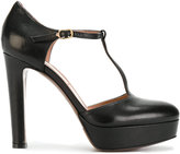 L'Autre Chose t-bar pumps - women - Calf Leather/Leather/Foam Rubber - 35.5