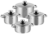 Livo Stainless Steel Cookware Set (8 PC)