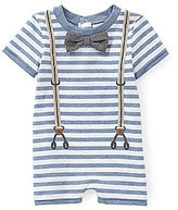 Starting Out Treasures Baby Boys Newborn-6 Months Stripe Shortall
