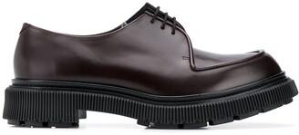 Adieu Paris Ridged Sole Lace-Up Shoes