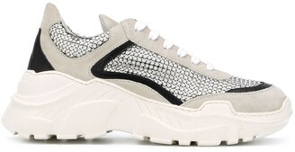 Giambattista Valli Chunky Lace-Up Trainers