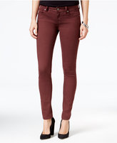 Miss Me Red Wine Wash Skinny Jeans