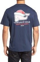 Vineyard Vines Men's Bearded Whale Graphic T-Shirt