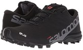 Salomon S-Lab Speed 2 (Black/Racing Red/White) Athletic Shoes