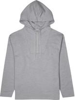 Kenzo Grey Hooded Cotton Sweatshirt