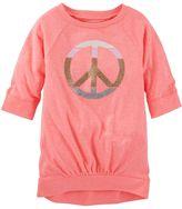 Osh Kosh Toddler Girl Drop Shoulder Banded Hem Tunic